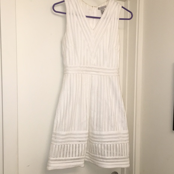 H&M Dresses & Skirts - H&M White Eyelet Dress